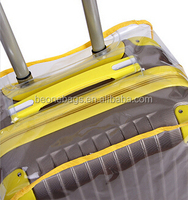 OEM and custom pvc protective plastic cover luggage