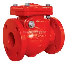 HIGH PRESSURE UL LISTED FLANGED END SWING CHECK VALVE