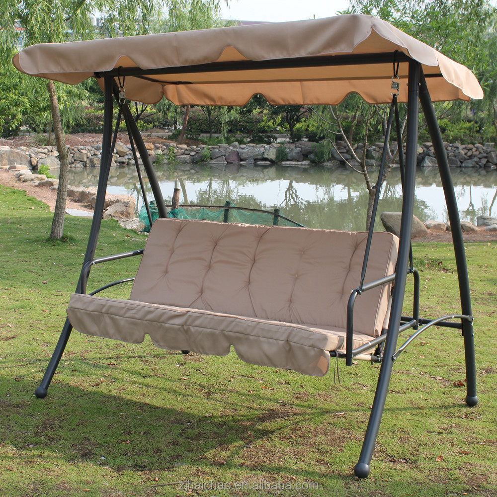 Swing Chair outdoor Patio Furniture hollywoodschaukel 3 seater Swing swing Ha