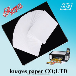 Factory price,260gsm Professional RC Glossy photo paper back print, glossy inkjet print photo paper