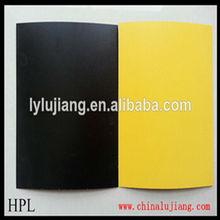 De alta calidad y mejor precio de melamina hpl laminado de hoja/de alta presión decorativos/hpl