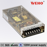 120 watt factory direct supply single output 12 volt 10 amp power supply