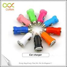 Popular femal car charger colorful electronic cigarette usb charger vaporizer pen wholesale