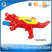 H184035 Wholesale cartoon red dinosaur shape toy high pressure air water spray gun for kids