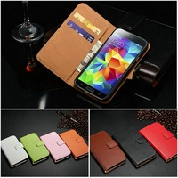 Factory Price China Wholesale Cross-Stitch DIY Luxury High Quality Leather Compact Cell Phone Case for Samsung Galaxy S5
