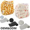 Ohbabyka washable cute monkey wholesale cloth diaper