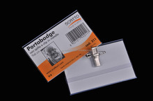 pvc name badges with pin