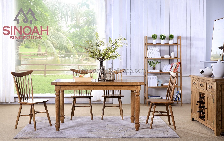 table chair dining room furniture dinning table chair solid wood