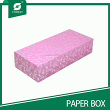 POPULAR CUSTOM LOGO PRINTED PAPER JEWELRY BOXES FOR GIFT