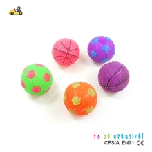 factory custom wholesale Novelty Toy ball mini soccer balls football bouncing balls/with light