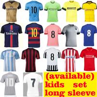 Soccer Sports jersey grade original , football shirt maker soccer jersey, 2015/16 soccer jersey thail quality