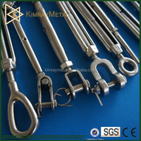 Stainless Steel Marine Turnbuckle (hook/eye/jaw)