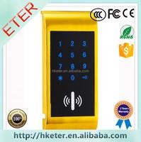 Magnetic gym locker Lock number Cabinet Lock with EM Card ET126PW