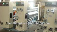 high speed three color printer slotter die cutter machine GYK1370 X2200