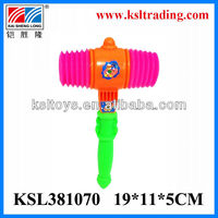 Promotional toy small chrismas plastic hammer toy