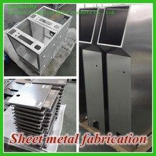 High quality and advanced precision control panel Custom Service stainless steel sheet metal Fabrication