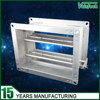 Galvanized steel air duct motorized volume control damper for hvac system