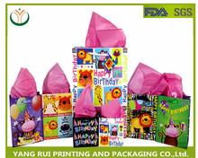 2015 Alibaba wholesale newest design paper bag /custom gift paper bag
