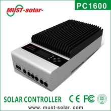 <MUST Solar>45A Advanced MPPT Solar Charge Controller, 12/24/36/48V auto recognise, with RS232, CANB and Ethernet communication