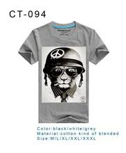2015 Custom printing men's T-shirt ,100% Cotton t shirts , printed t shirts men, t-shirt wholesale China