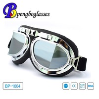 Factory wholesale UV400 high impact dustproof motorcycle goggles