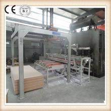 MDF Short Cycle Melamine Lamination Hot Press Machine