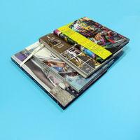 China cheap print hardback book with spot UV on hard cover