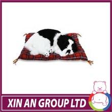 CE certificated plush stuffed animal wholesale sleeping breathing toy dog