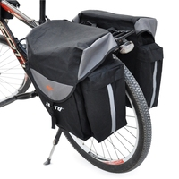 Rear Seat Bag Waterproof Horse Bicycle Bike Saddle Bag