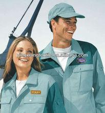 workwear fabric of T/C65/35 14X14 80X56 240gsm 2/1 twill