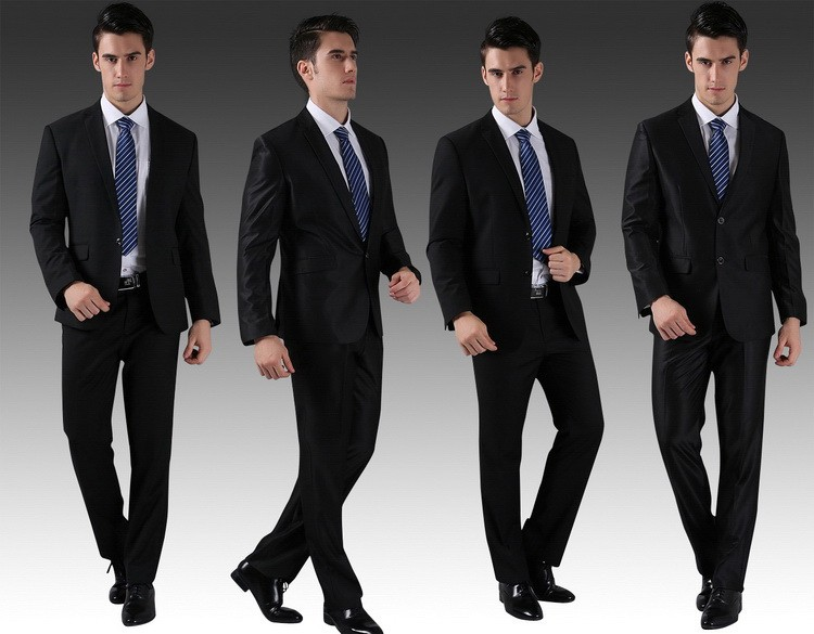 HTB1N3xmFVXXXXb XVXXq6xXFXXXa - (Jackets+Pants) 2016 New Men Suits Slim Custom Fit Tuxedo Brand Fashion Bridegroon Business Dress Wedding Suits Blazer H0285