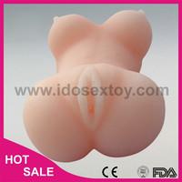 12.5*7.5*6cm sex toy silicone love dolls big breast silicone sex doll for male