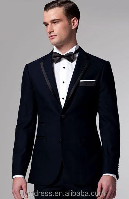 Matrimonio In Smoking : Premium midnight blue smoking beau adaptés smokings