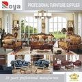 de estilo europeo de madera maciza antigua talla de muebles para el hogar