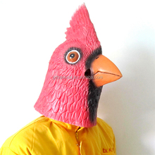 factory animal rubber Masks/ Halloween party Latex Different Styles Halloween cock Adult Full Face Mask