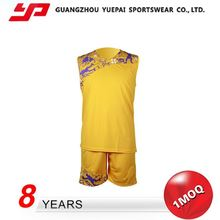 Highest Level Nice Design Elastic Double Face Basketball Jersey