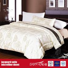 Shiny Jacquard Satin Duvet Microfiber Comforter