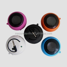 2015 hot sell phone accessories Fast Delivery Tiny Style Innovation 3W Excellent Sound Hamburger Portable Mini Speaker