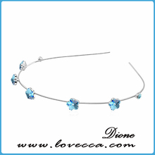 Ladies bridal hair band crystal rhinestone headband, Made with Austrian Crystal