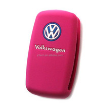 High quality new silicone remote car key cover for Volkswagen, Silicone Jacket Smart Key Remote Cover for VW