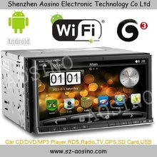 "2 DIN UNIVERSAL 7"" HD 1080P Android 2.3 CAR PC WITH WIFI 3G GPS DVD PLAYER"