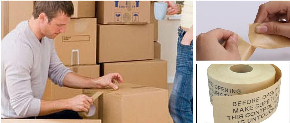 tanch it thermofusible colle kraft papier bande pour kraft papier sac emballage avec des. Black Bedroom Furniture Sets. Home Design Ideas