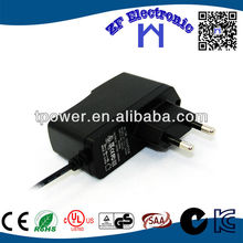 LED light 15v 0.8A ac dc adapter with CE CUL FCC KC GS certification