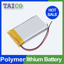 Lipo battery 3.7v 1200mah lithium polymer battery with 1 year warranty