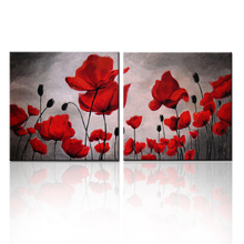 Dropship Canvas Art Painted Pictures Of Flowers