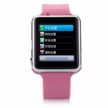cherry mobile touch screen phones MTK6260A hand wrist watch mobile phone China factory wholesale