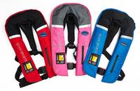 150N Yoke style inflatable life jacket life vest for marine