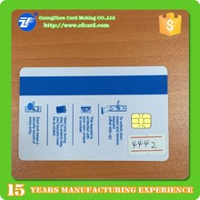 Hot sell SLE4442 chip card for save information with resonable price on sale