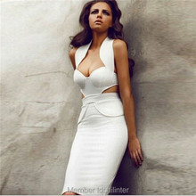 whoelsael ladys halter pure white club wear dress patterns