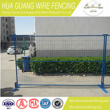 australia or canada cheap home/garden used welded or pvc coated movable/ portable tempoary fence panels for sale made in china